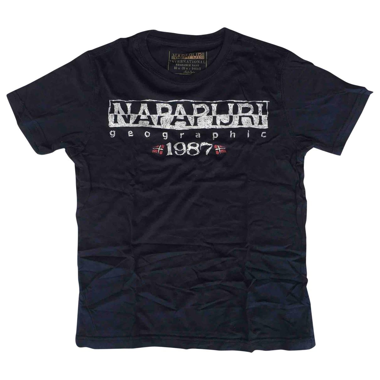 Napapijri - Top   pour enfant en coton - bleu
