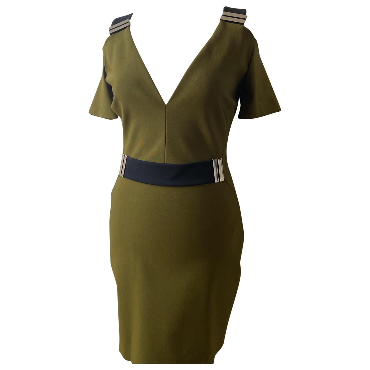 Mugler - Robe   pour femme - kaki