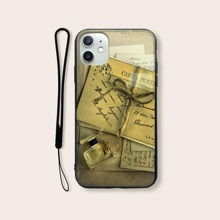 Graphic iPhone Case With Lanyard