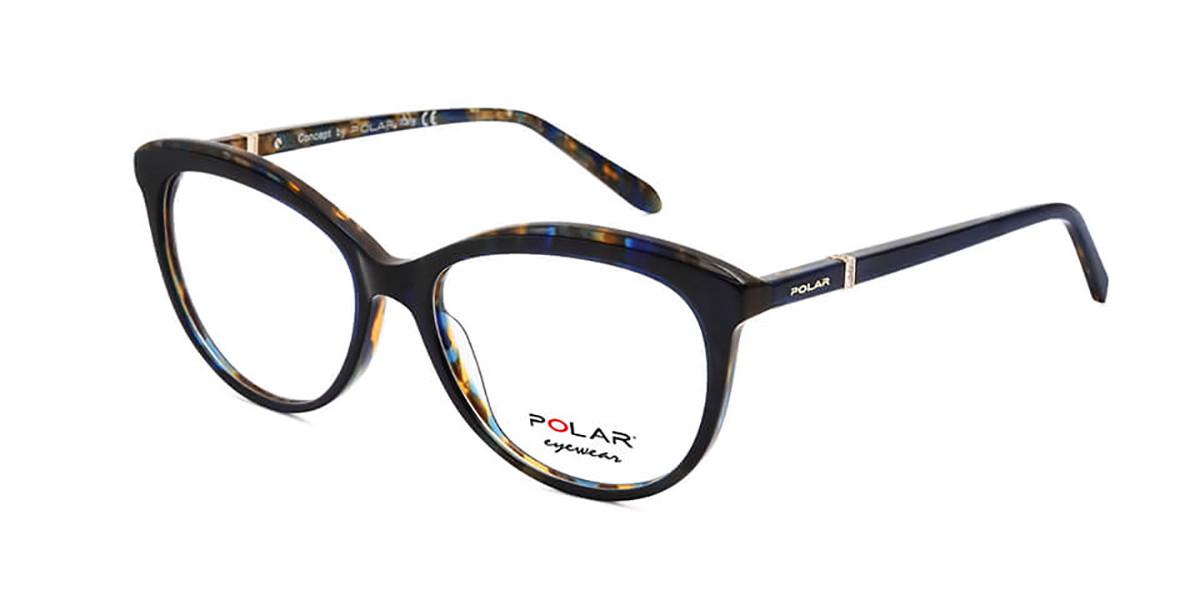 Polar PL Crystal 7 27 Men's Glasses Tortoise Size 54 - Free Lenses - HSA/FSA Insurance - Blue Light Block Available