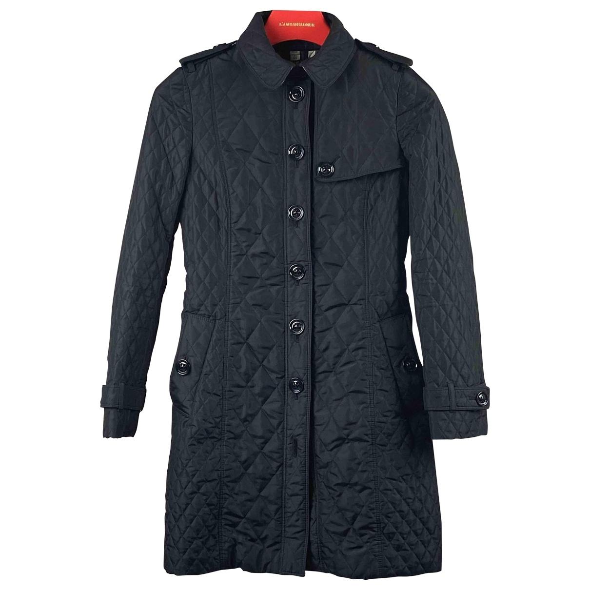 Burberry \N Black coat for Women 36 IT
