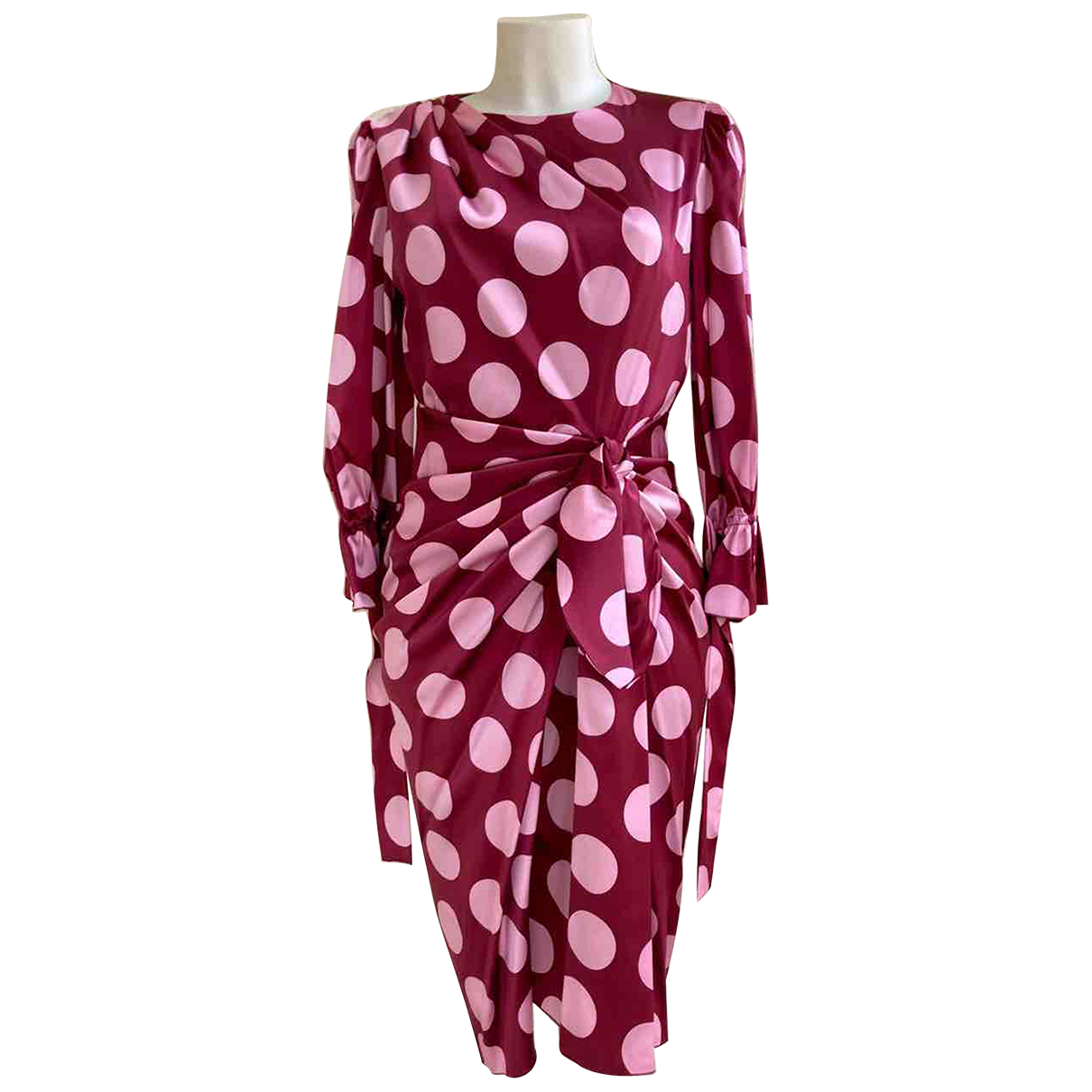 Dolce & Gabbana - Robe   pour femme en soie - rose