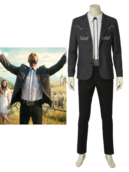 Milanoo Far Cry 5 Inside Eden\s Gate The Father Joseph Halloween Cosplay Costume