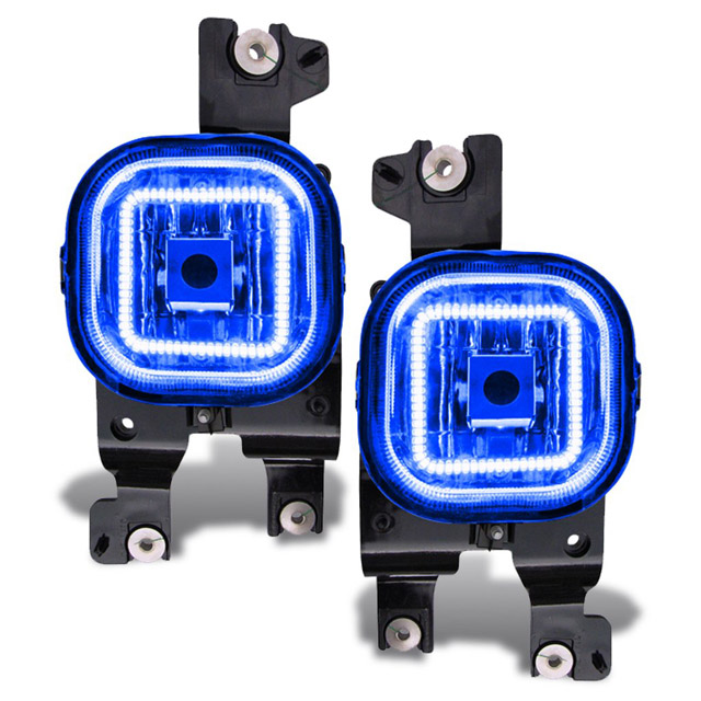 Oracle Lighting 1342-002 Ford Superduty 2008-2010 ORACLE LED Fog Light Halo Kit Blue