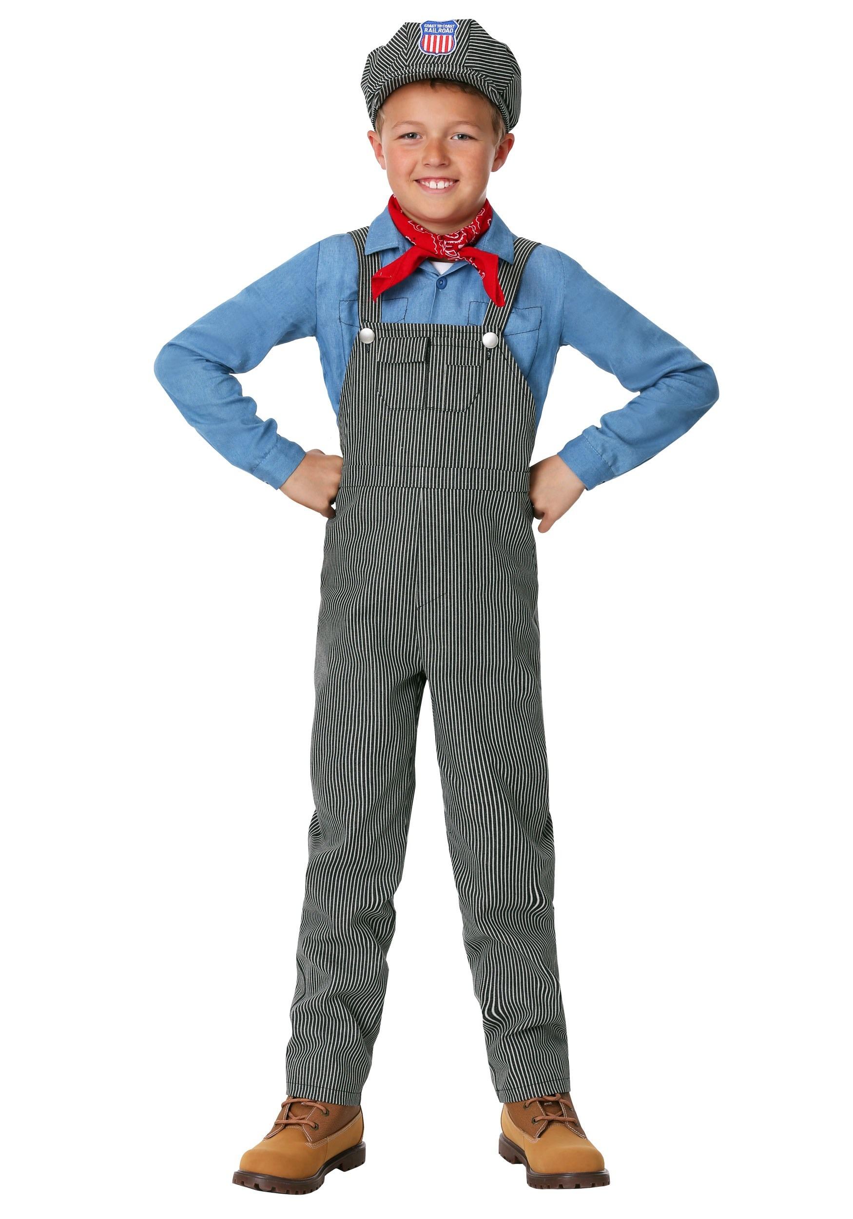 Train Engineer Costume for Children