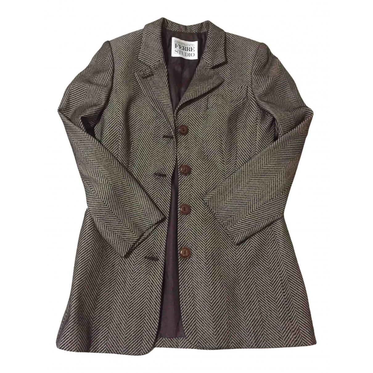 Gianfranco Ferre - Veste   pour femme en laine