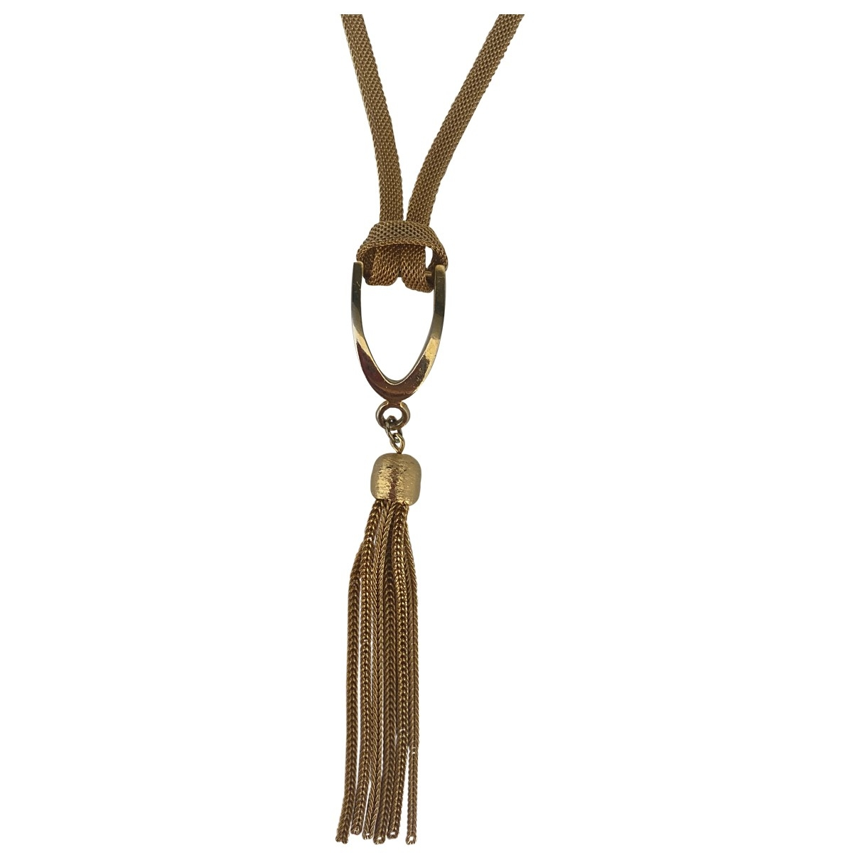 Non Signé / Unsigned \N Gold Metal Long necklace for Women \N
