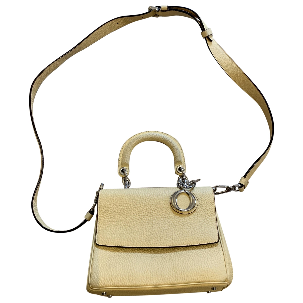 Dior Be Dior Yellow Leather handbag for Women \N