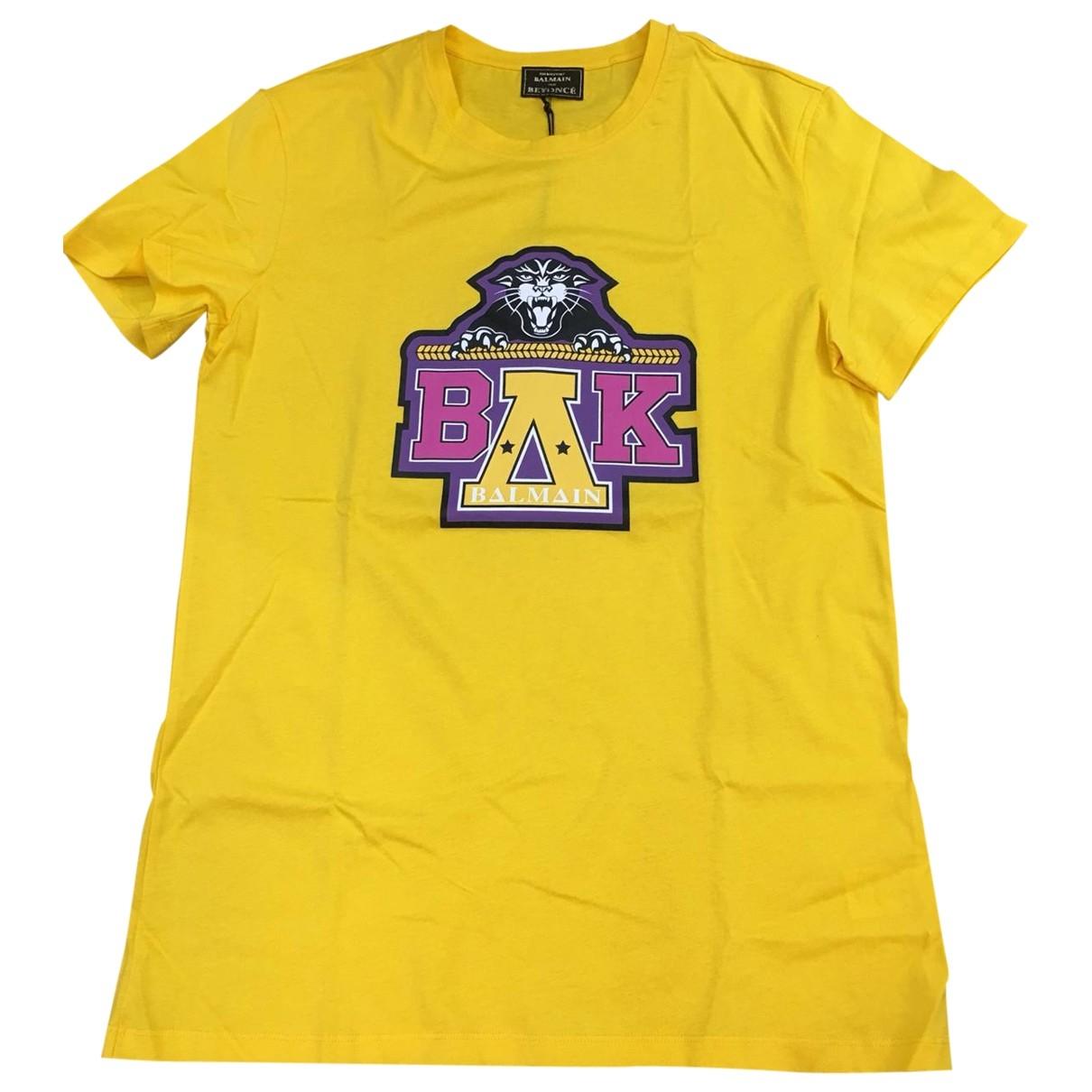 Balmain X Beyonce - Top   pour femme en coton - jaune