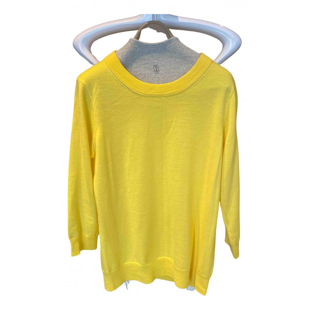 J.crew N Yellow Wool Knitwear for Women S International