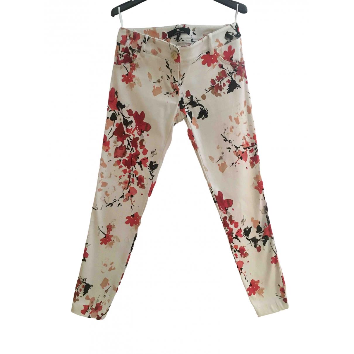 Elisabetta Franchi \N Trousers for Women 42 IT
