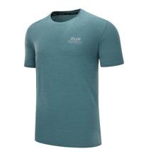 Sports T-Shirt mit Buchstaben Grafik und kurzen Ärmeln