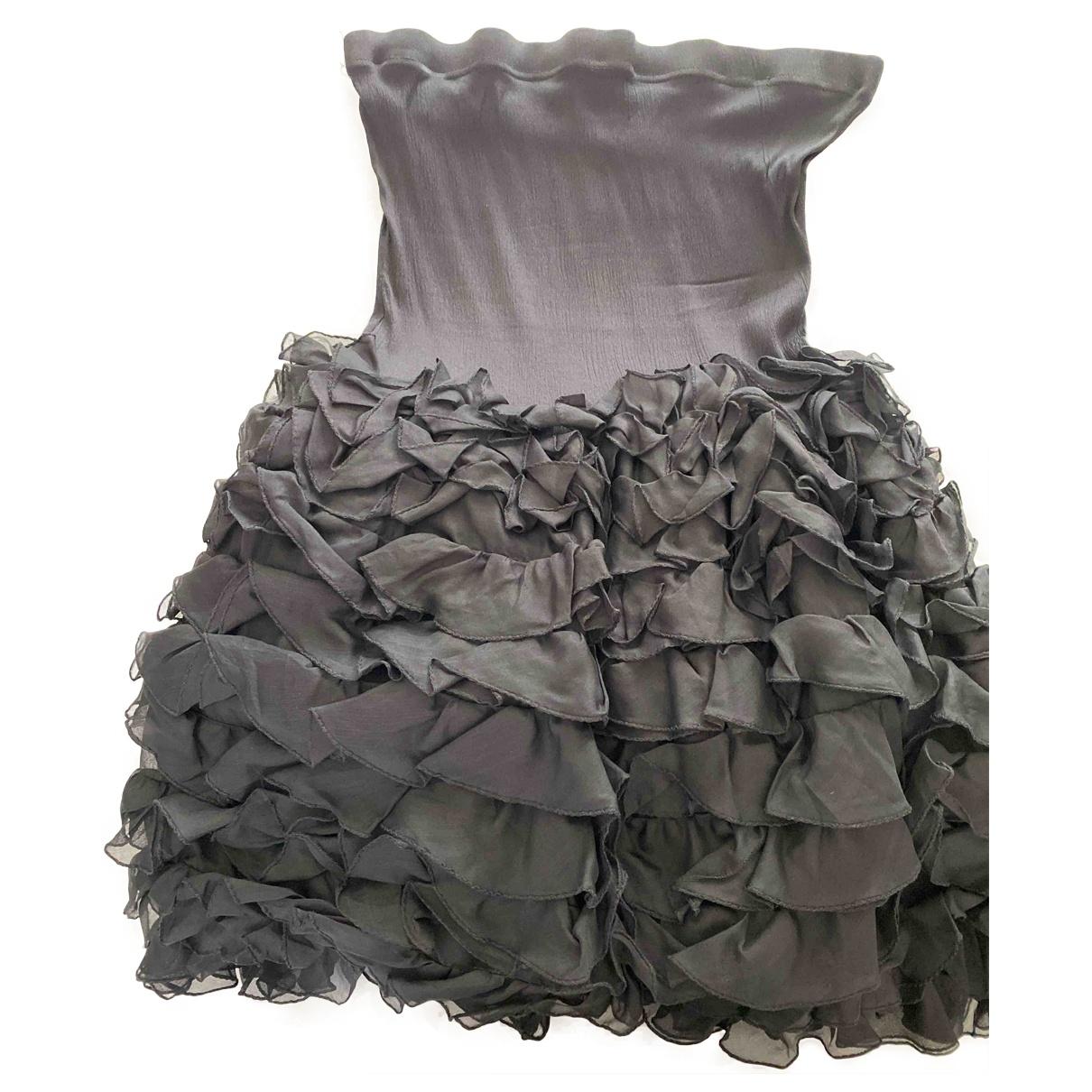 Byblos \N Kleid in  Schwarz Polyester