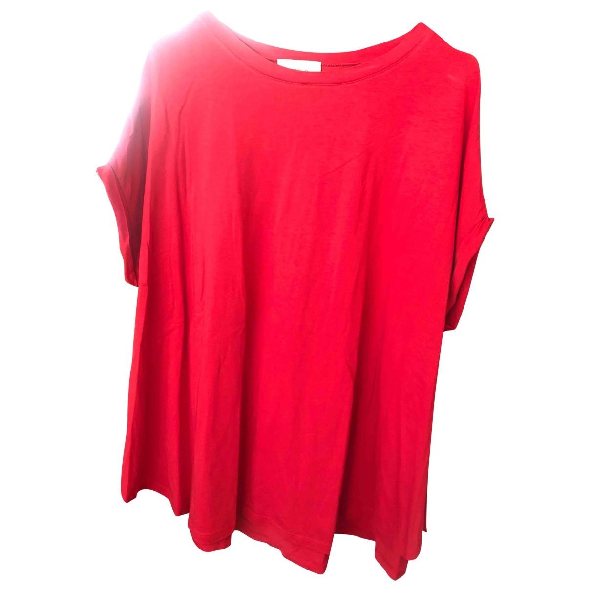 Vicolo - Top   pour femme en coton - rouge