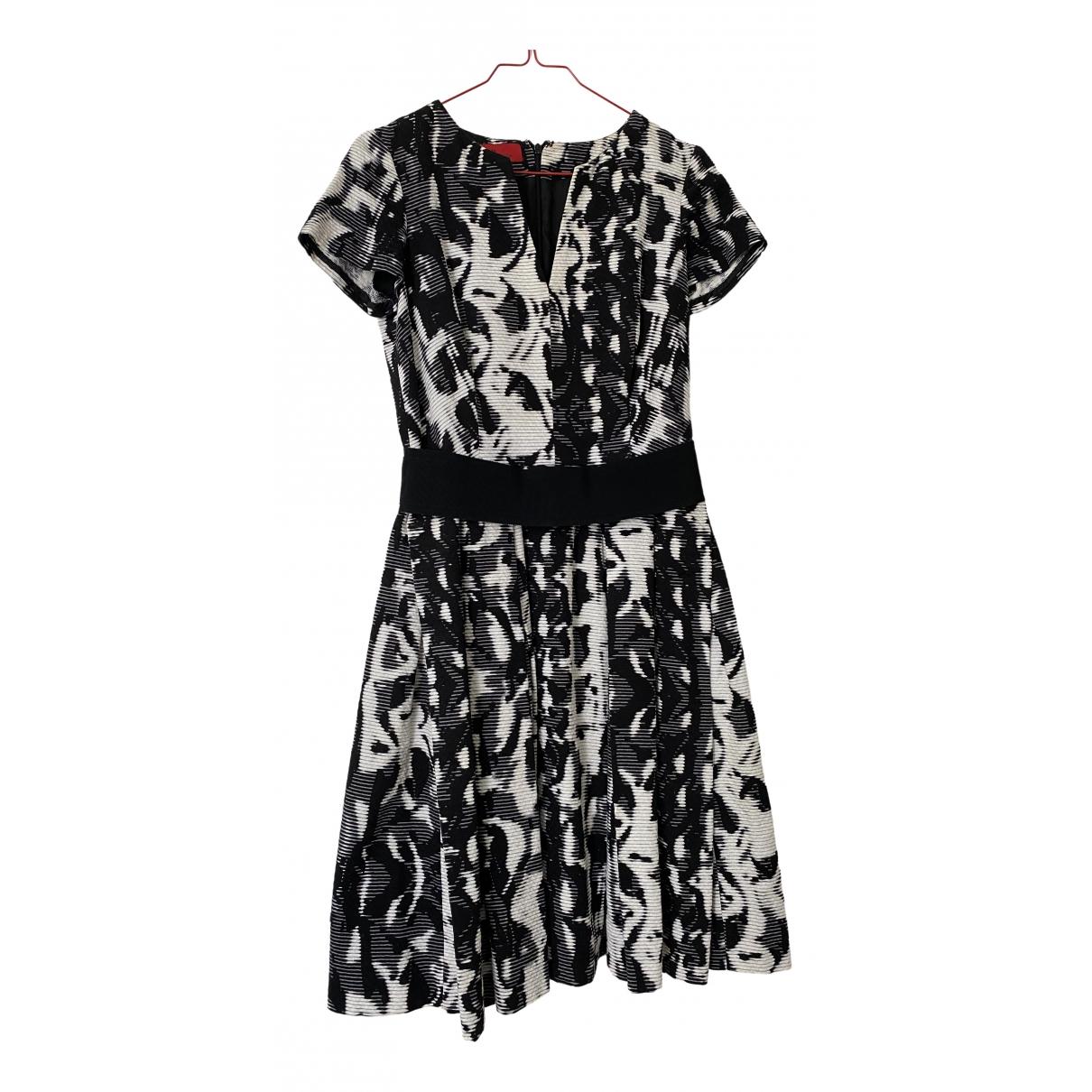 Carolina Herrera \N Kleid in  Schwarz Baumwolle
