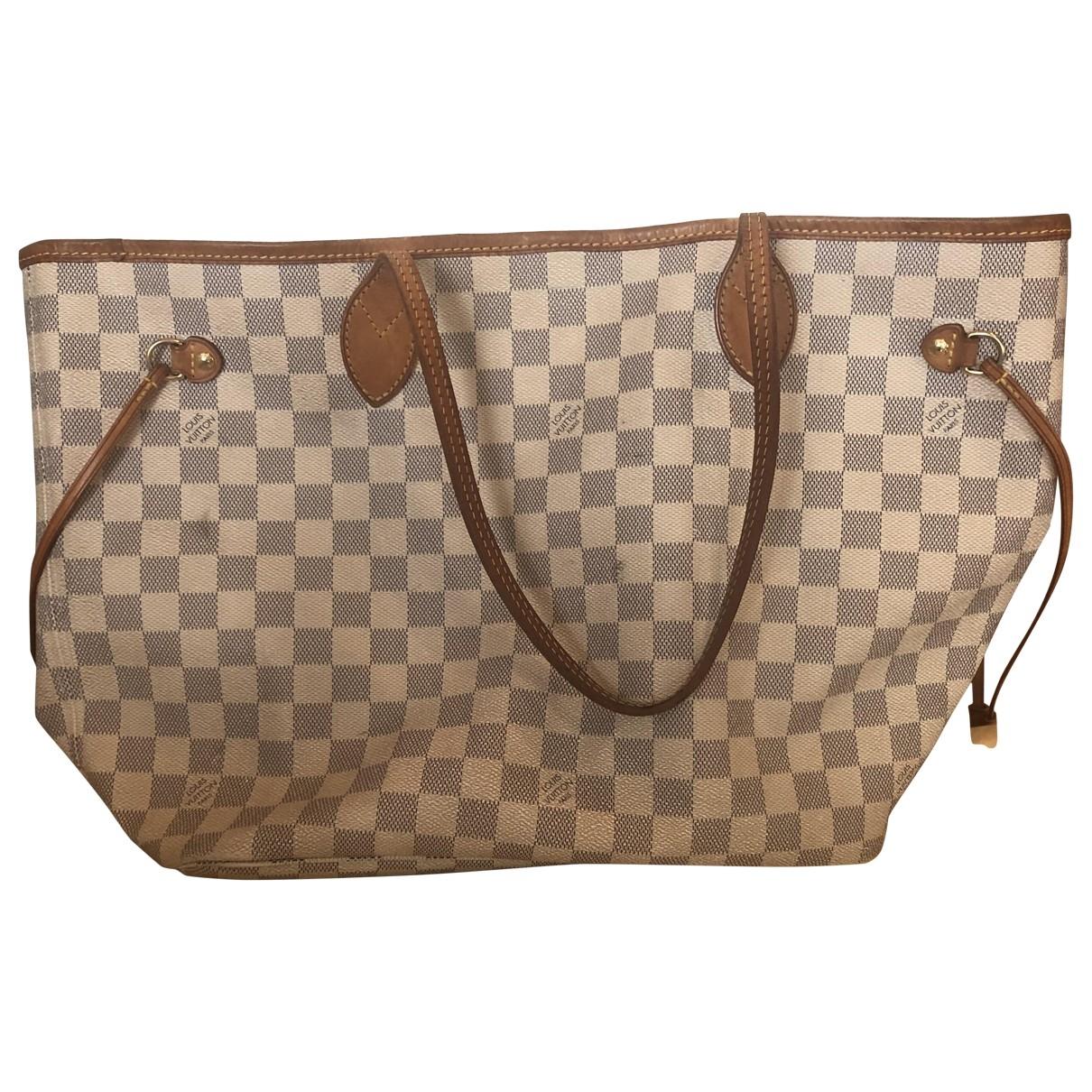 Louis Vuitton Neverfull Red Cloth handbag for Women \N