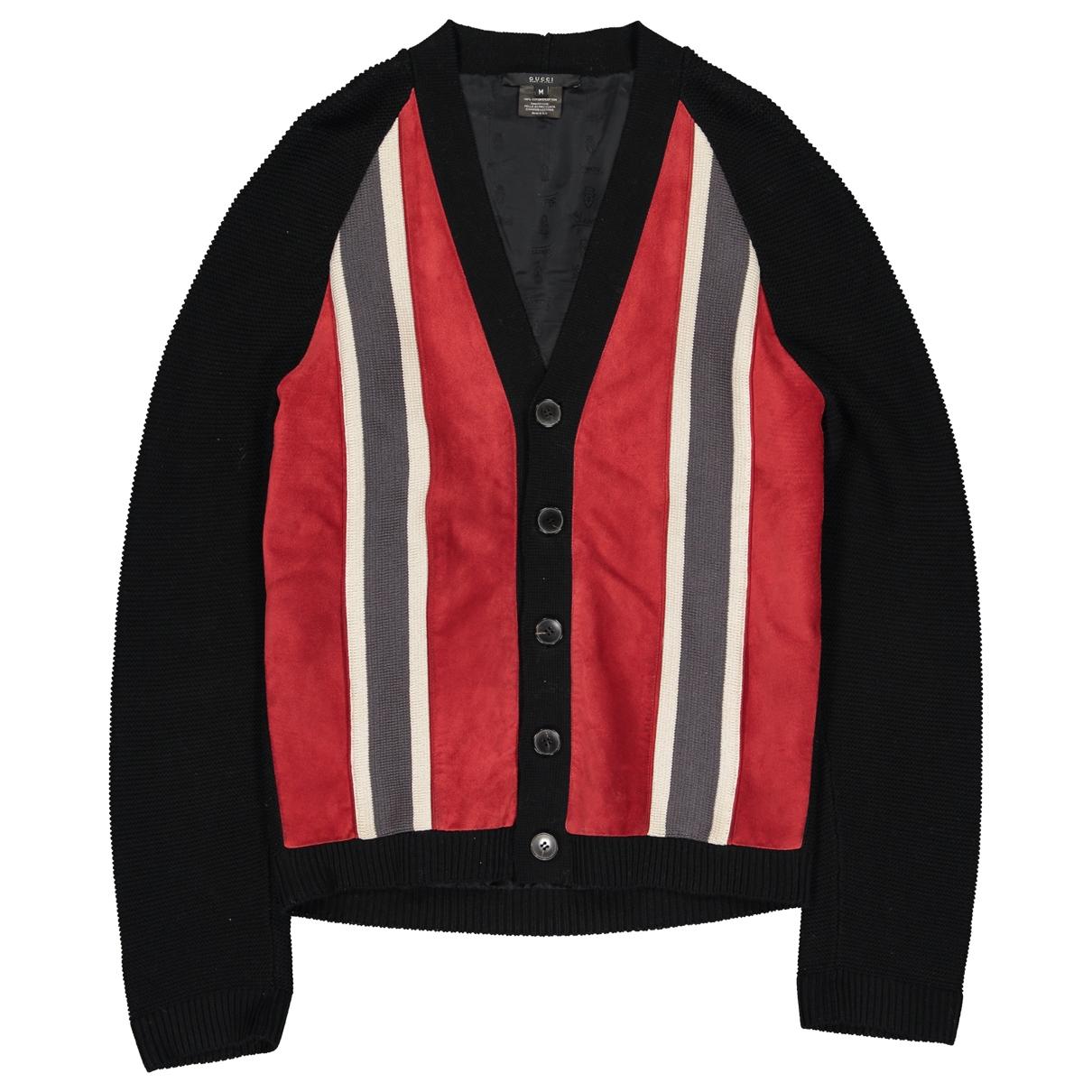 Gucci - Pulls.Gilets.Sweats   pour homme en coton - noir