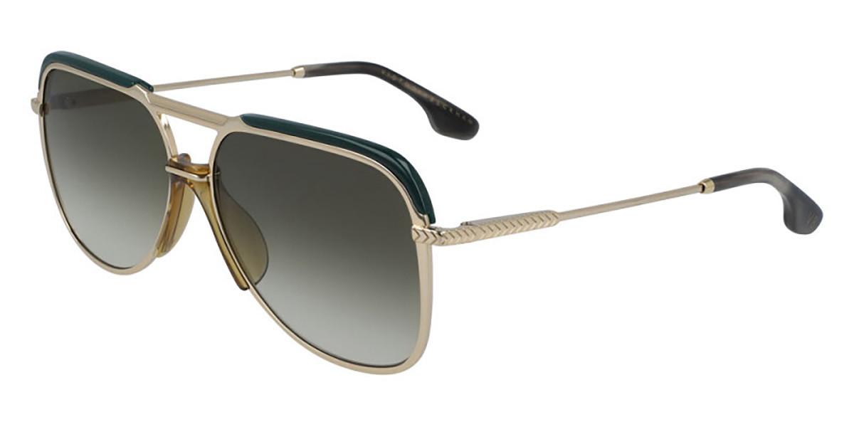 Victoria Beckham VB205S 713 Women's Sunglasses Gold Size 58
