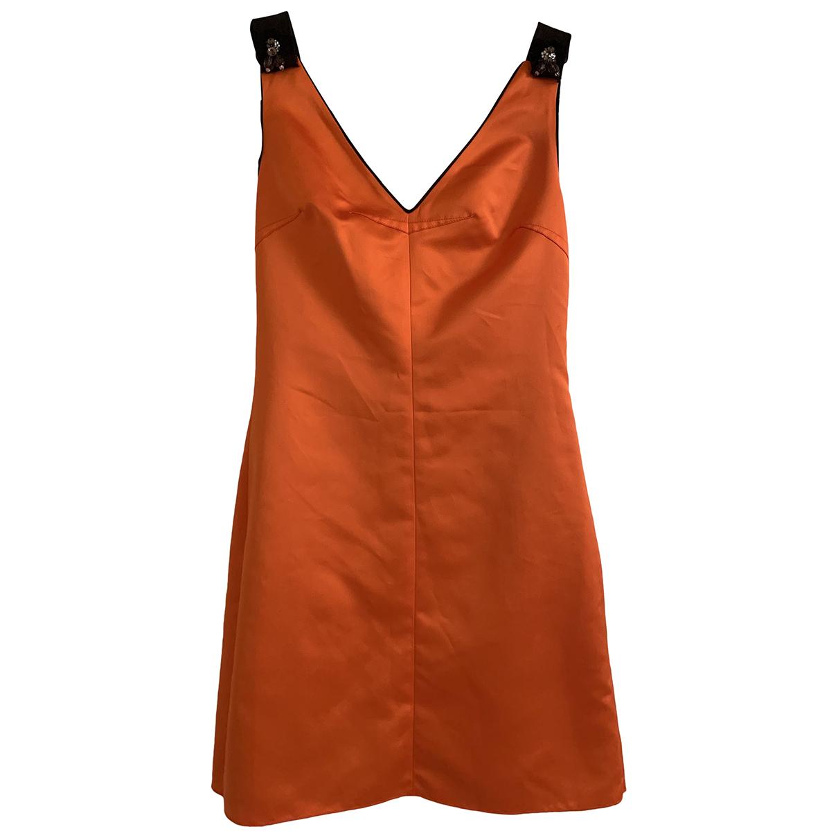 D&g \N Kleid in  Orange Synthetik
