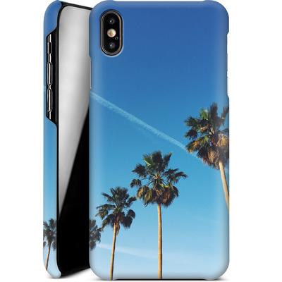 Apple iPhone XS Max Smartphone Huelle - Palm Tree Paradise von Omid Scheybani