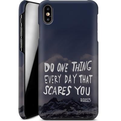 Apple iPhone XS Max Smartphone Huelle - Scares You von Leah Flores