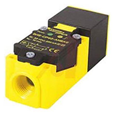 Turck Inductive Sensor - Block, NO/NC Output, 20 mm Detection, IP67, 1/2-14NPT Connector Terminal