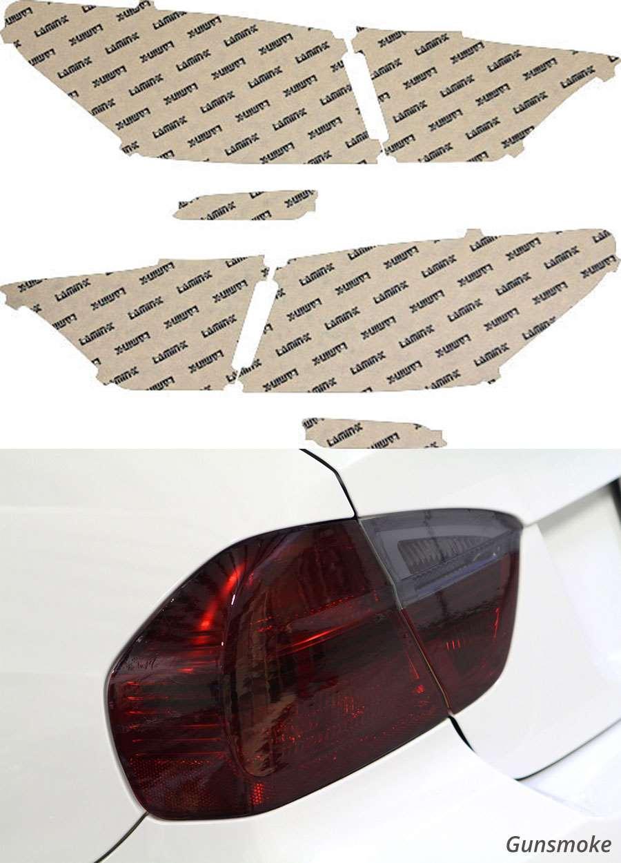 Lexus LS 13-18 Gunsmoke Tail Light Covers Lamin-X L224G