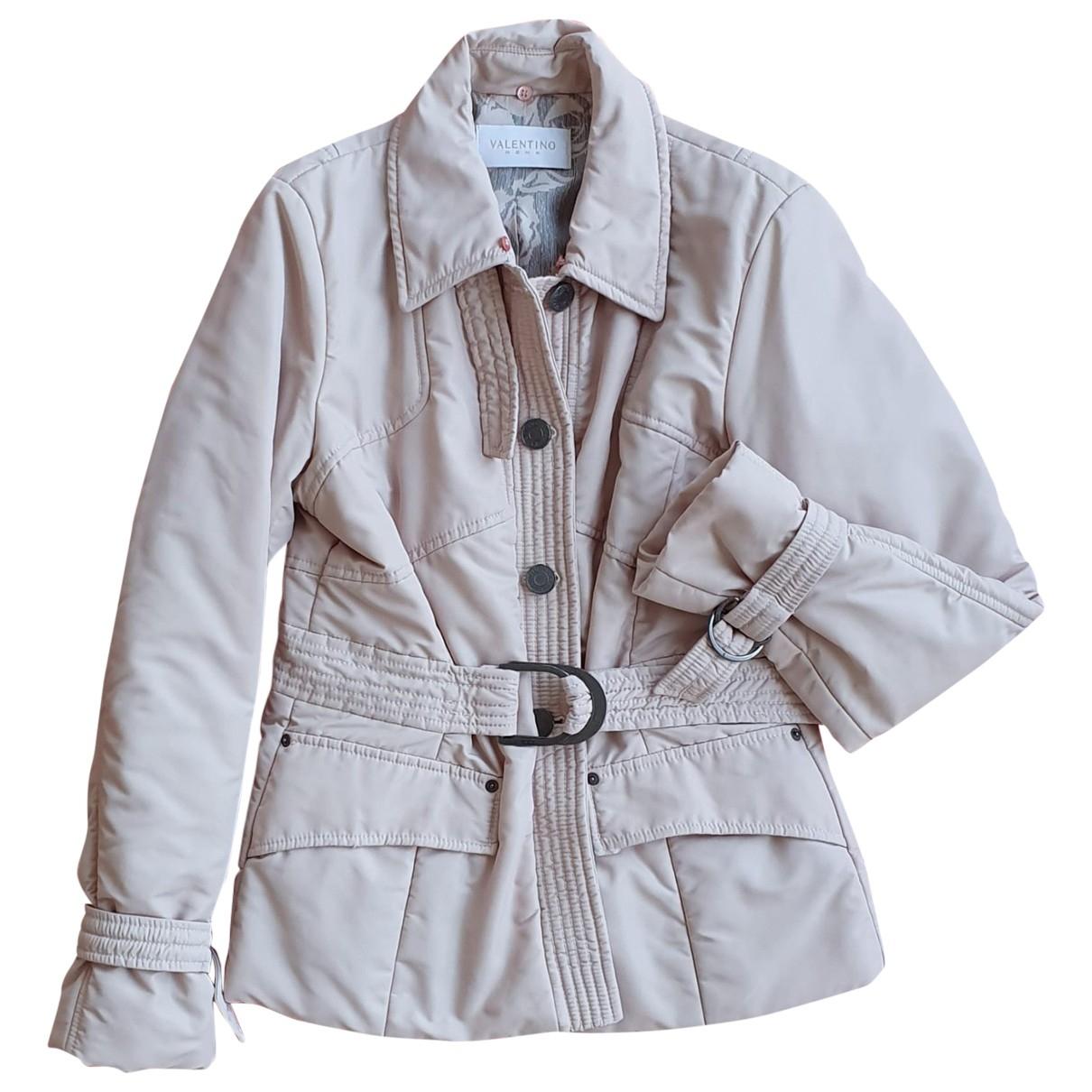 Valentino Garavani \N Beige coat for Women 46 IT
