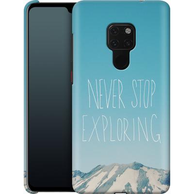 Huawei Mate 20 Smartphone Huelle - Never Stop Exploring von Leah Flores