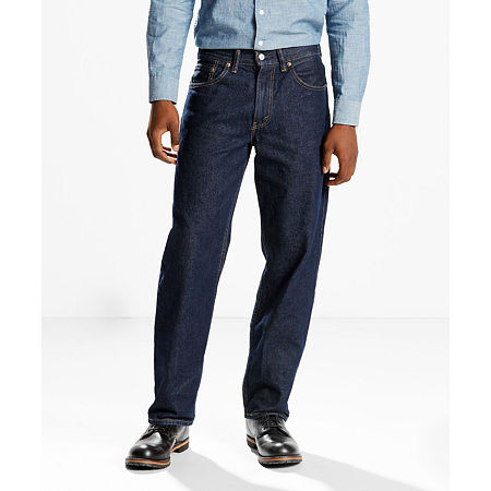 Levi's 550 Relaxed Fit Jeans - Big and Tall - Stretch, 48 29, Blue