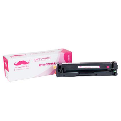 Compatible HP 201A CF403A cartouche de toner magenta - Moustache®