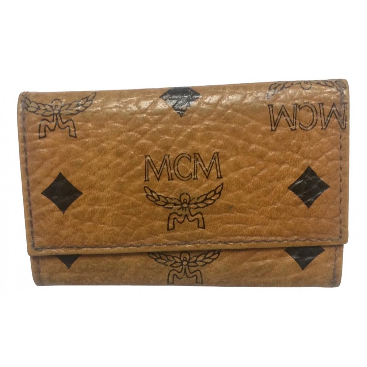 Mcm \N Brown Leather Purses, wallet & cases for Women \N