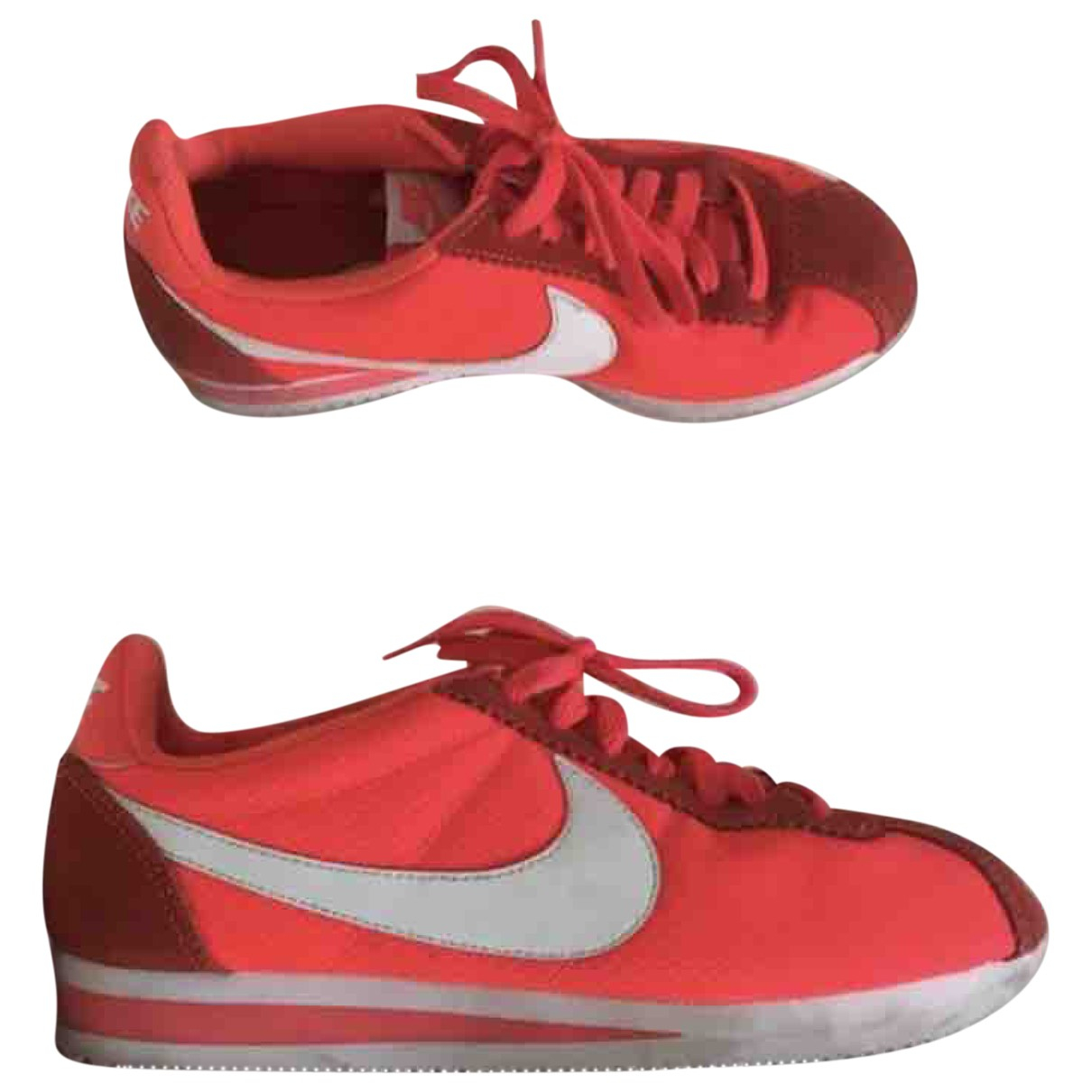 Nike Cortez Sneakers in  Rosa Polyester