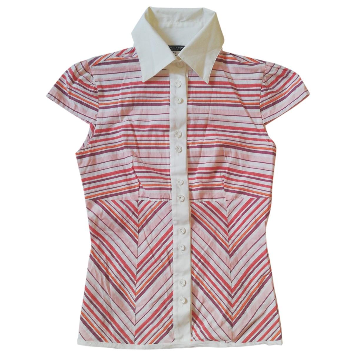 Patrizia Pepe - Top   pour femme en coton - multicolore