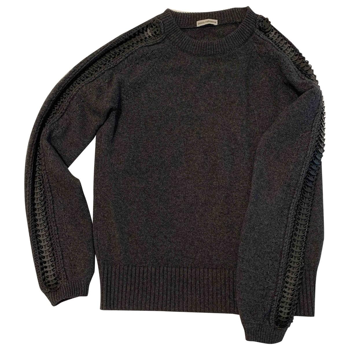 Paco Rabanne \N Pullover in  Schwarz Wolle