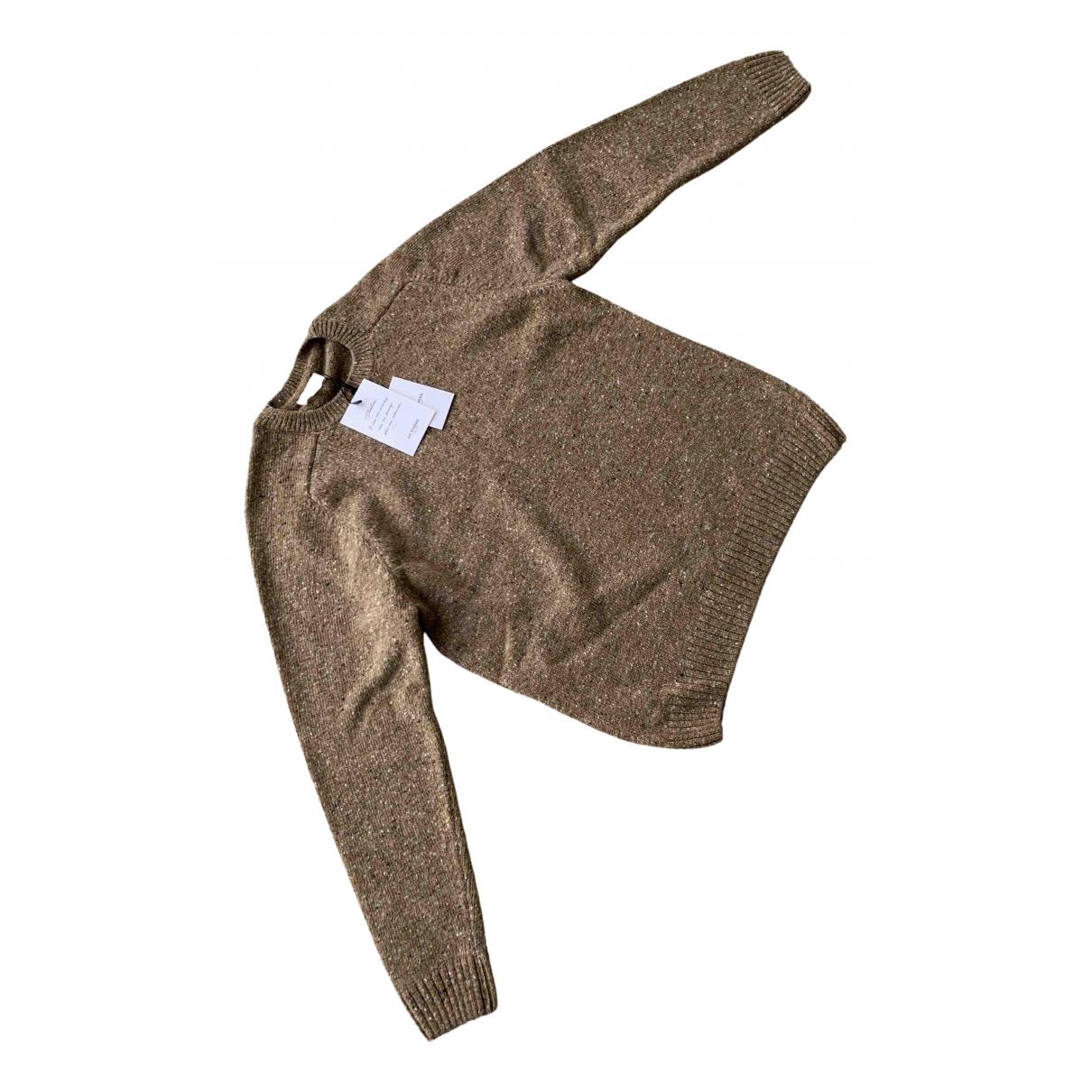 Octobre Editions N Beige Wool Knitwear & Sweatshirts for Men XXL International