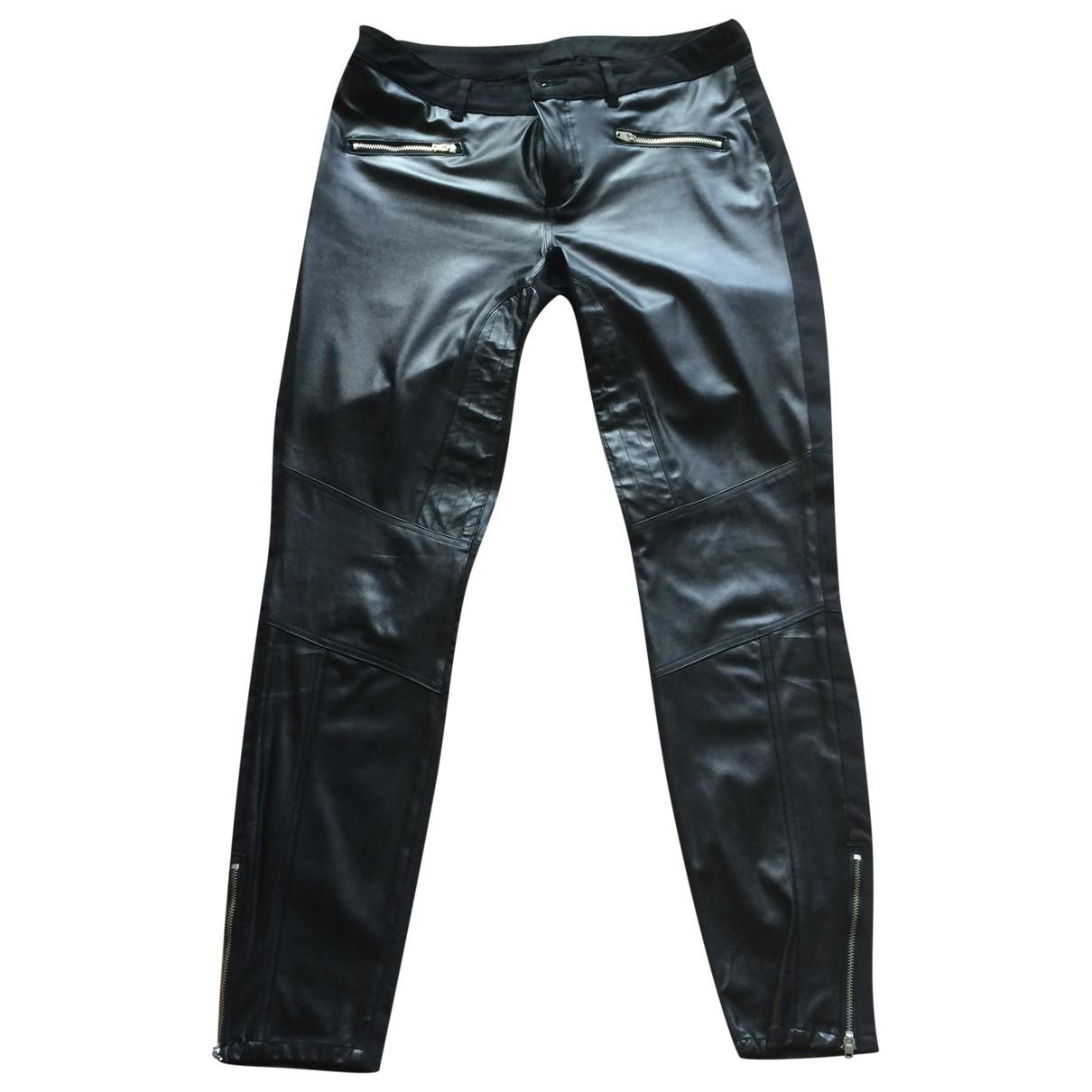 Sport Max - Pantalon   pour femme en coton - noir