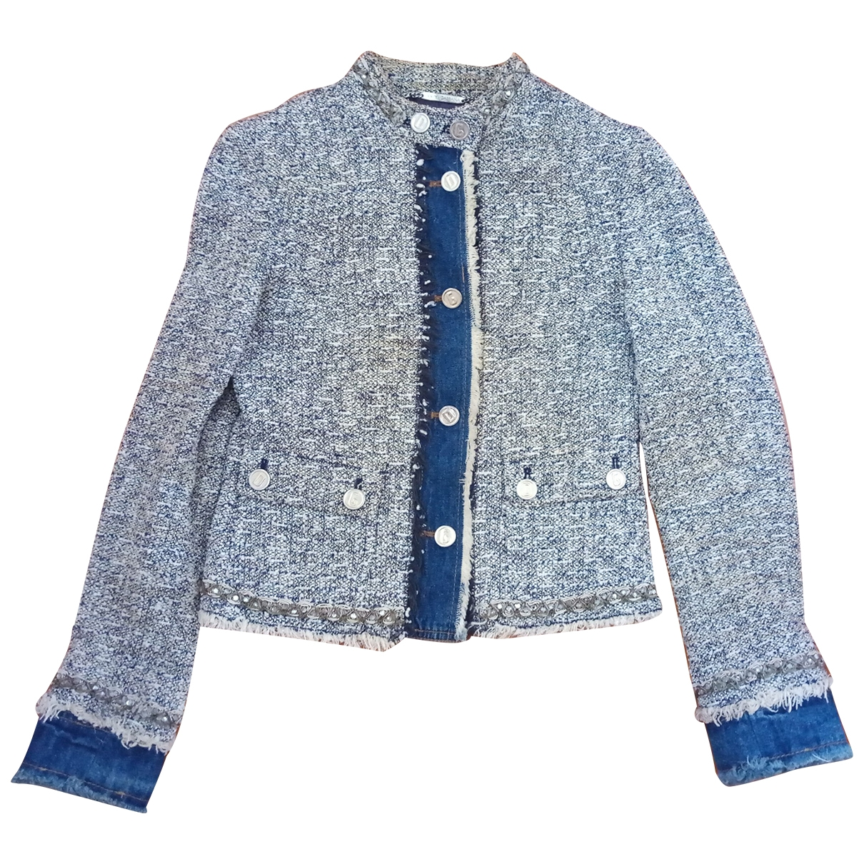 Dolce & Gabbana \N Blue Cotton jacket for Women 38 IT