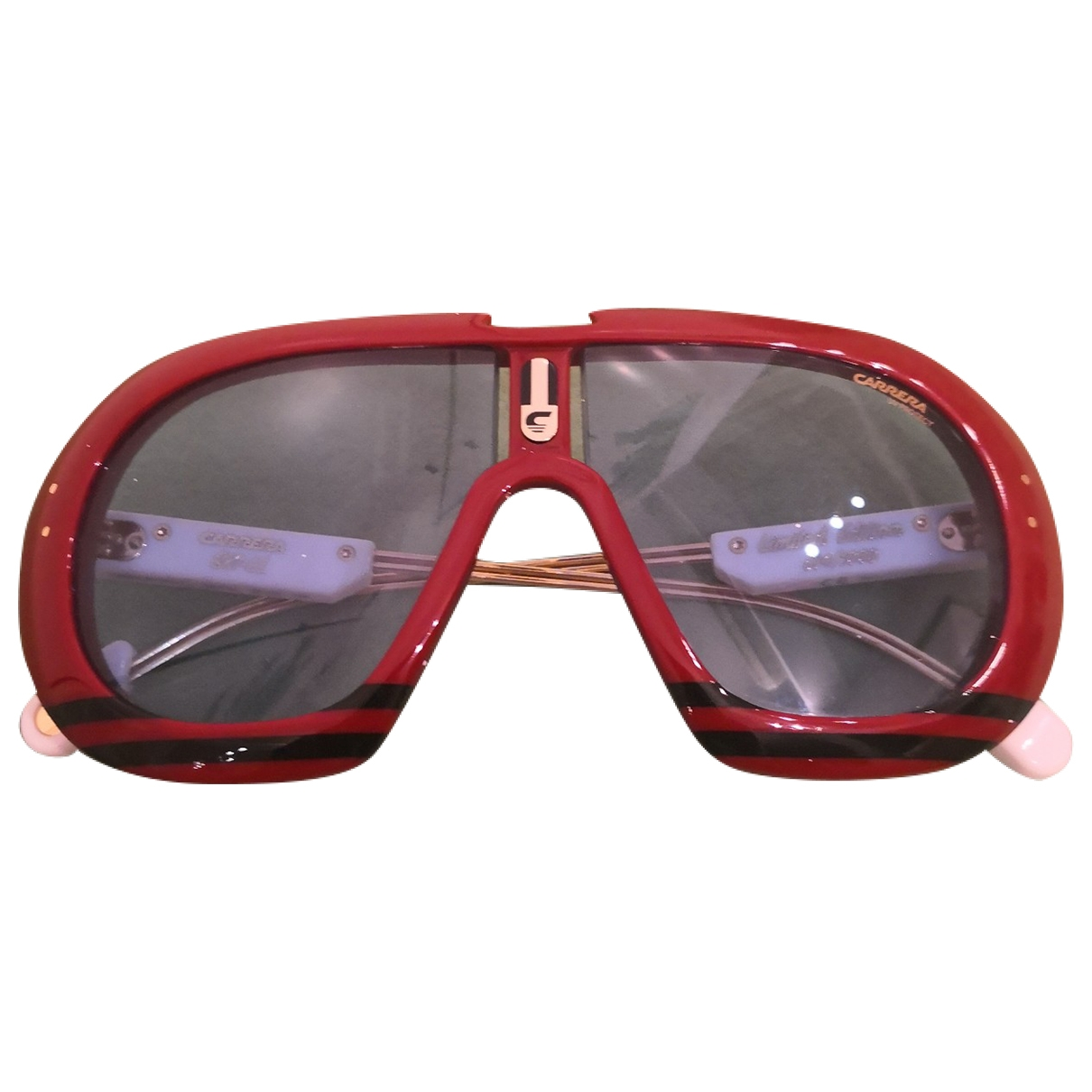 Carrera \N Burgundy Sunglasses for Men \N