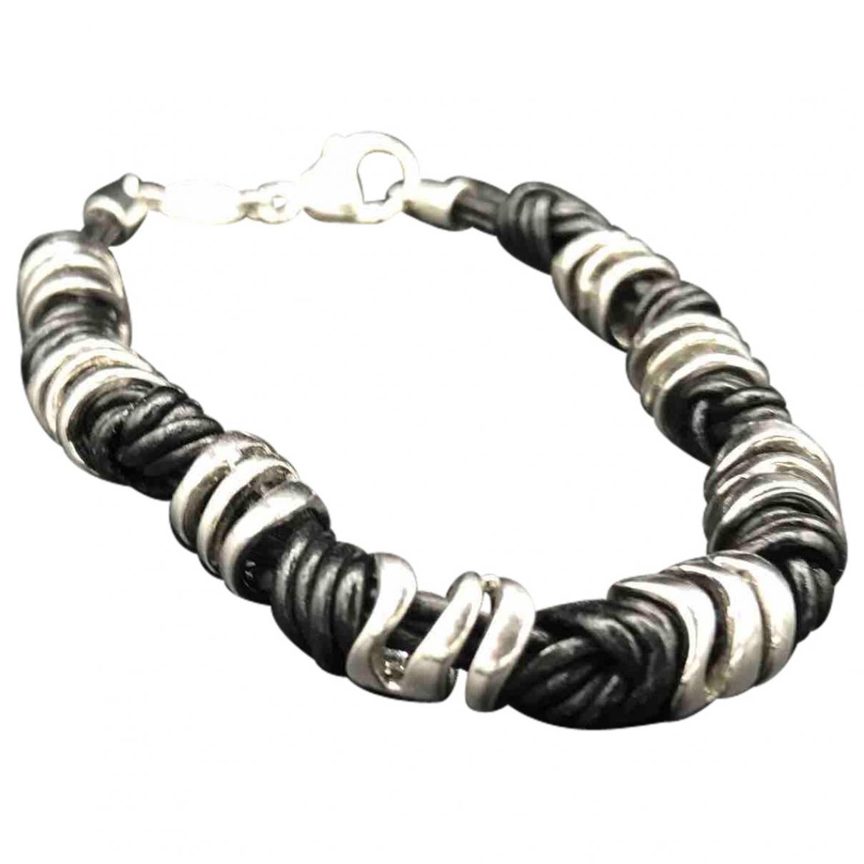 Fossil \N Black Steel bracelet for Women \N