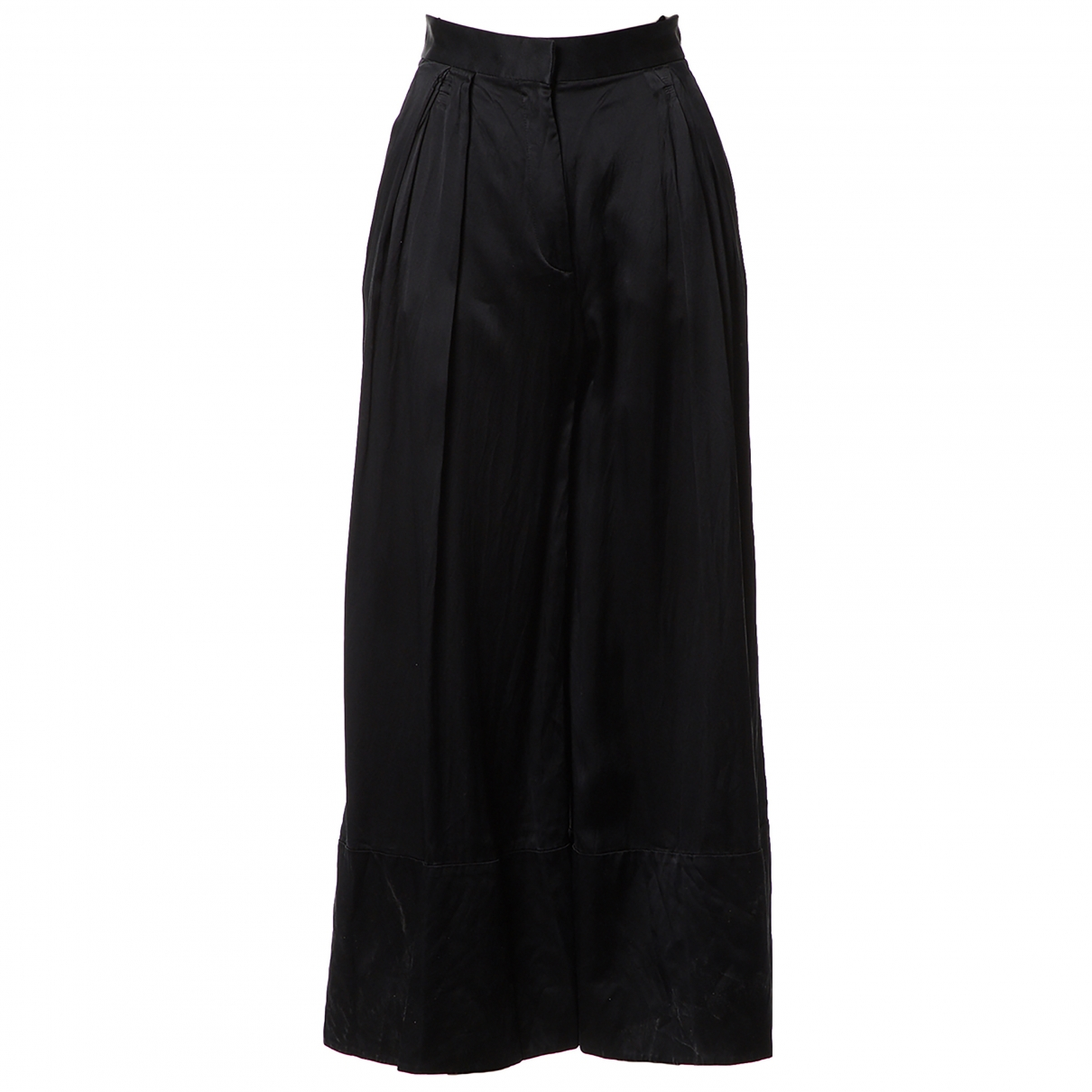 Givenchy \N Black Silk Trousers for Women 34 FR