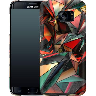 Samsung Galaxy S7 Edge Smartphone Huelle - Dirty Triangles von Danny Ivan