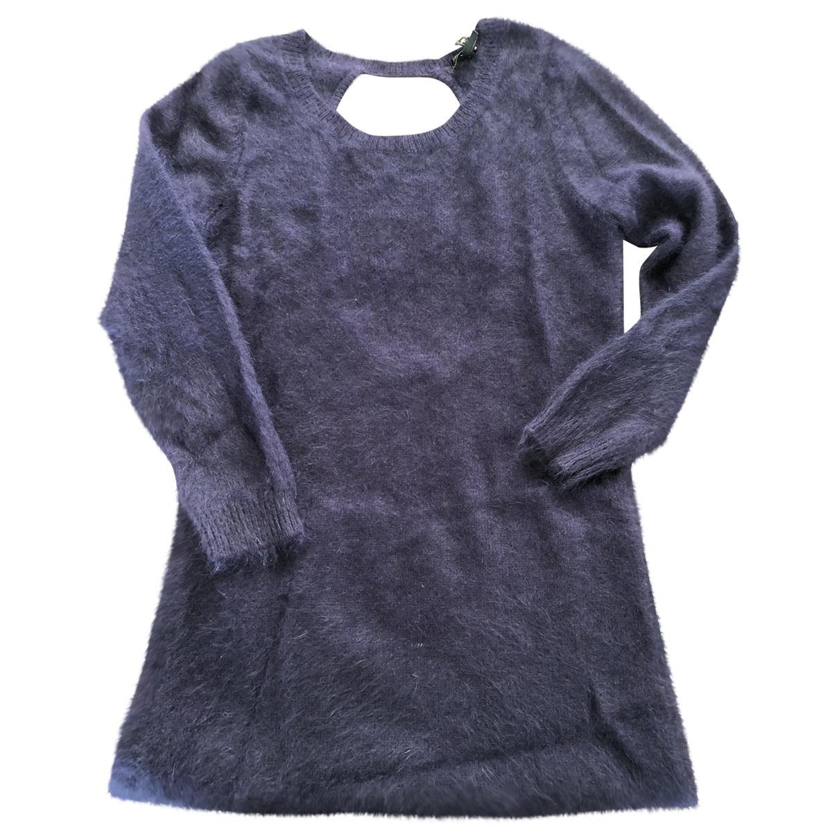 Maje \N Purple Wool dress for Women 2 0-5