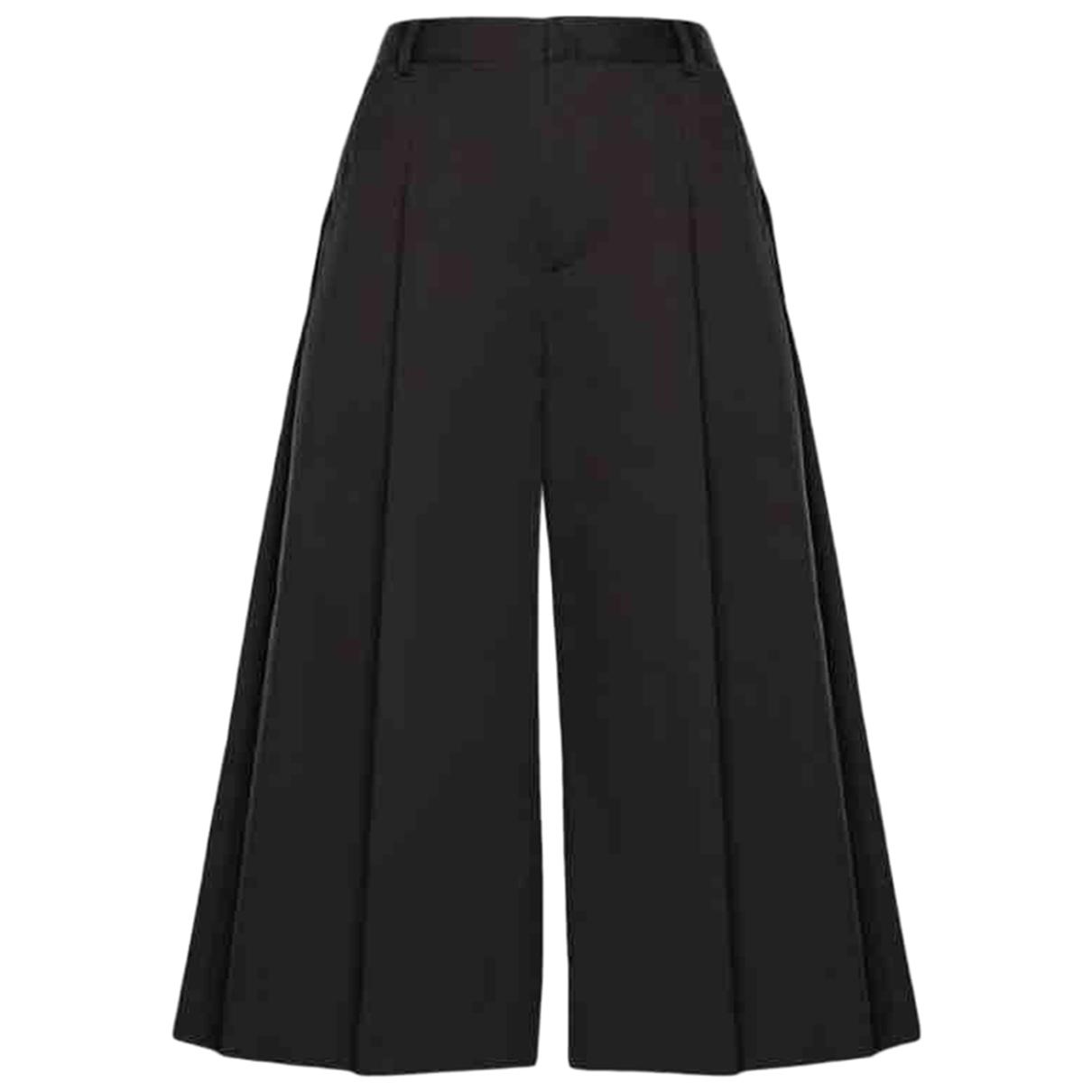 Moncler Genius - Pantalon Moncler n°6 Noir Kei Ninomiya pour femme en coton - noir