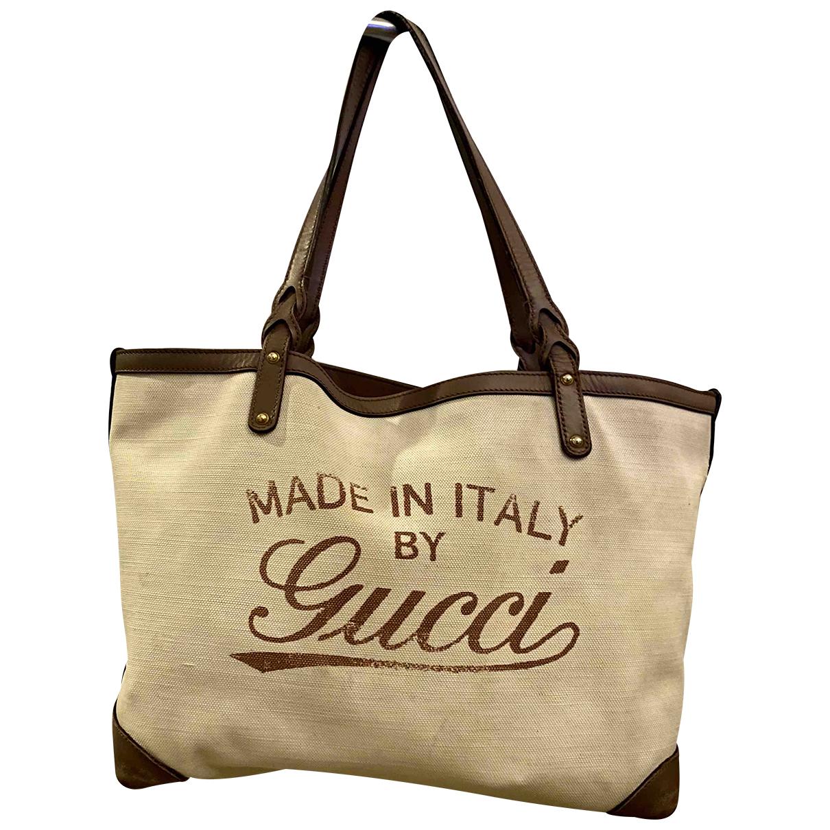 Gucci - Sac a main   pour femme en toile