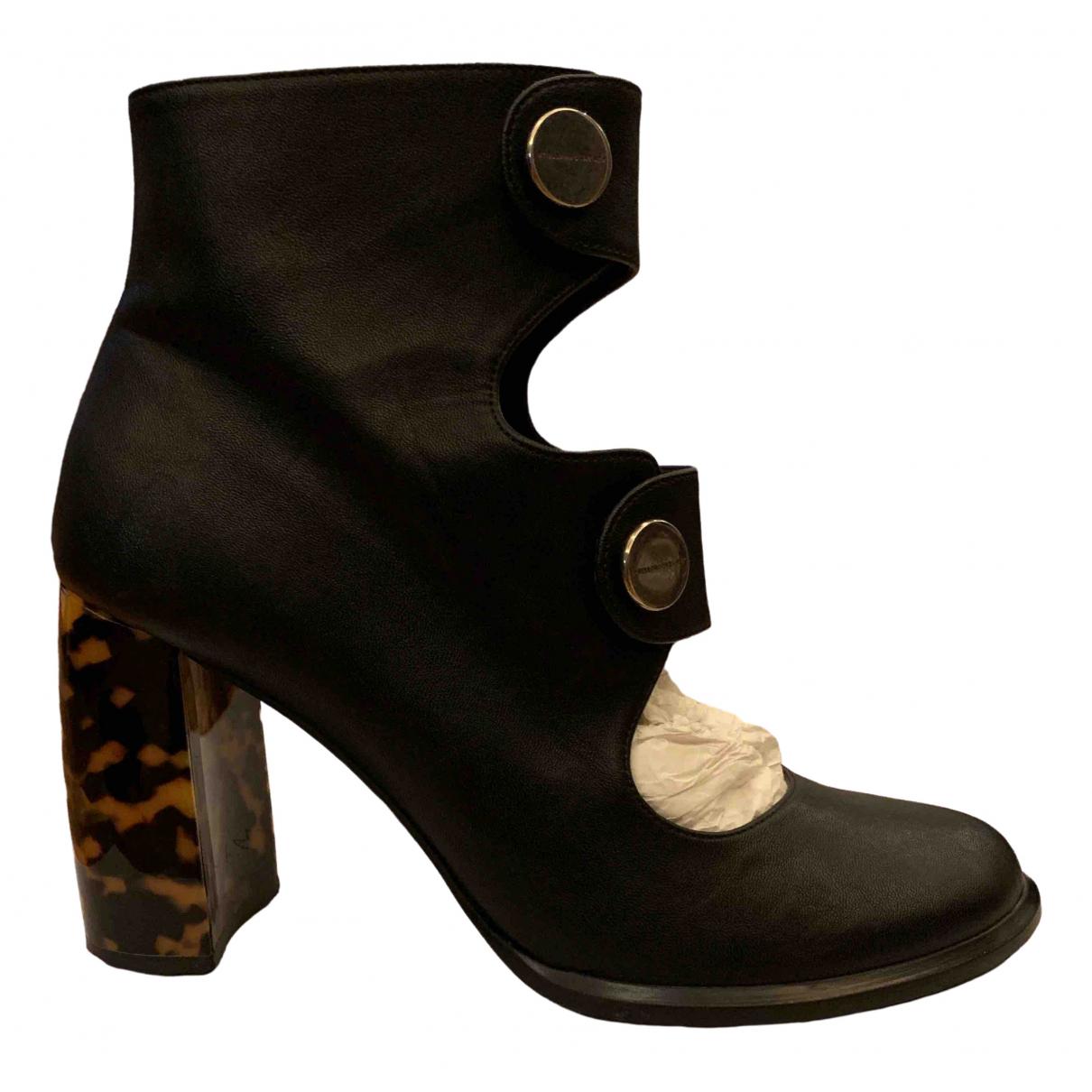 Stella Mccartney \N Black Ankle boots for Women 40 EU
