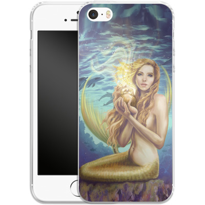 Apple iPhone 5 Silikon Handyhuelle - Selina Fenech - Holding Magic von TATE and CO