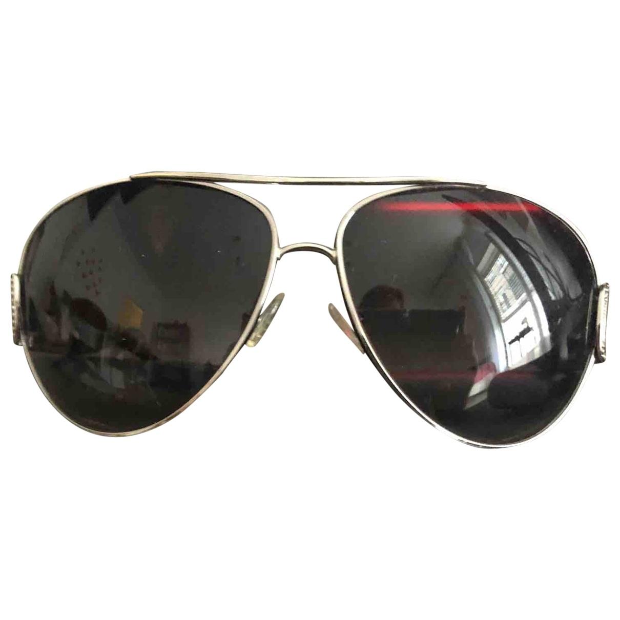 Bvlgari \N Sonnenbrillen in  Schwarz Metall
