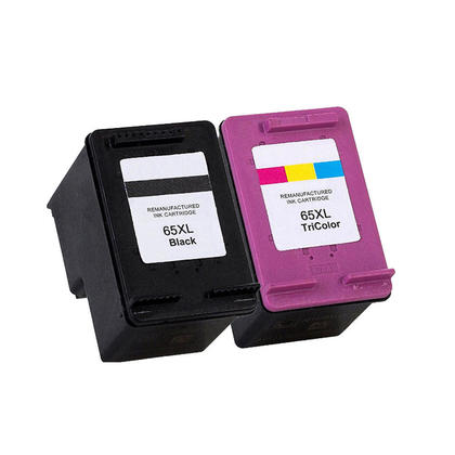 Compatible HP 65XL N9K04AN N9K03AN Black and Color Ink Cartridge Combo High Yield