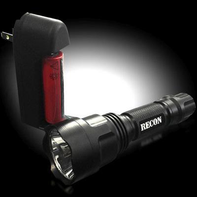 RECON LED Flashlight - 264FL9BK